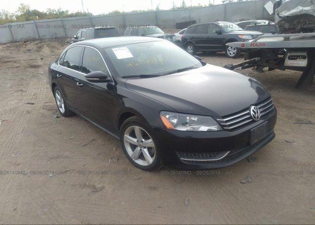 Inventory #530411943 2012 Volkswagen PASSAT