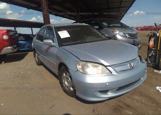 Inventory #554507438 2004 Honda CIVIC
