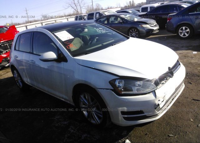 Inventory #435254206 2015 VOLKSWAGEN GOLF