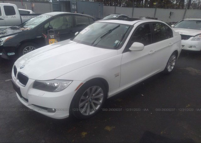 из сша 2011 BMW 3 SERIES WBAPK5C56BA660308