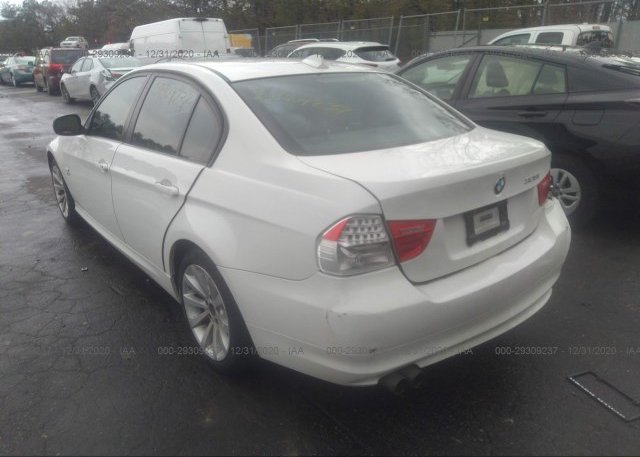 купить 2011 BMW 3 SERIES WBAPK5C56BA660308