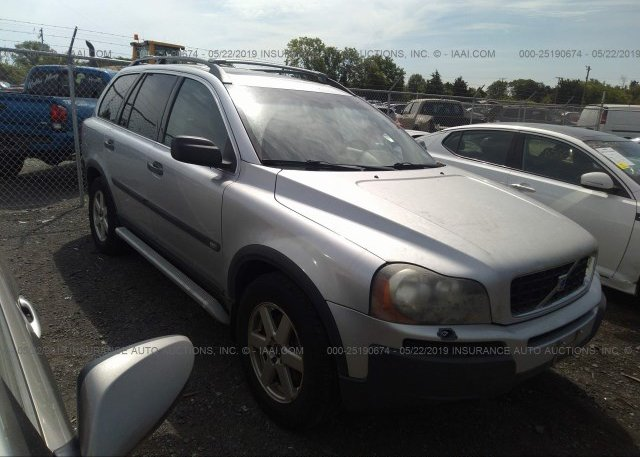 Yv1cy59h541078747 Clear Silver Volvo Xc90 At Culpeper Va On Online