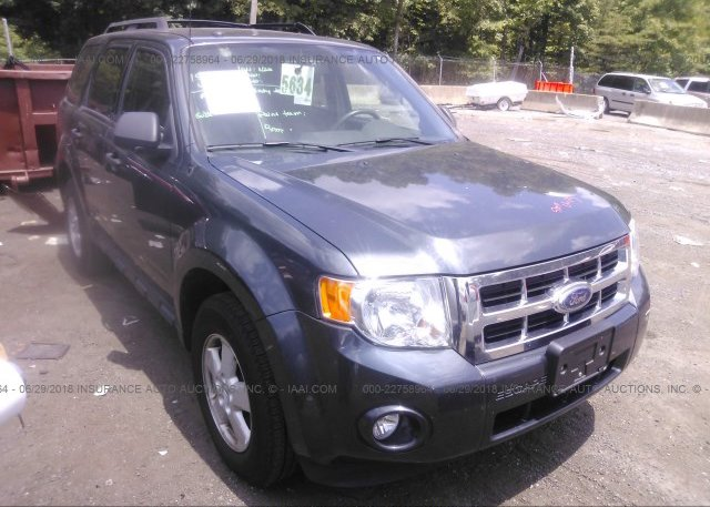 Inventory #630310548 2009 FORD ESCAPE