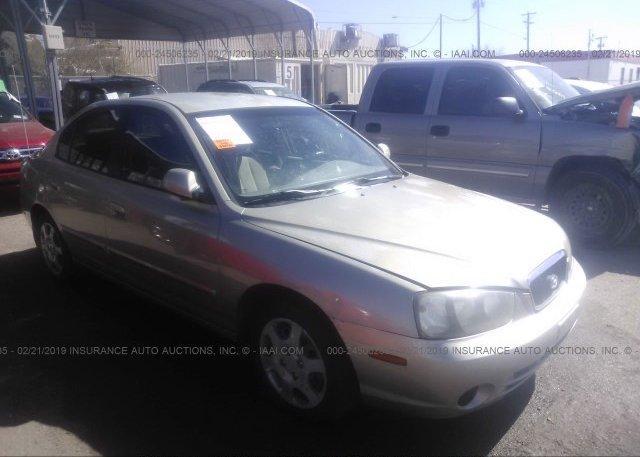 Inventory #608394471 2002 Hyundai ELANTRA