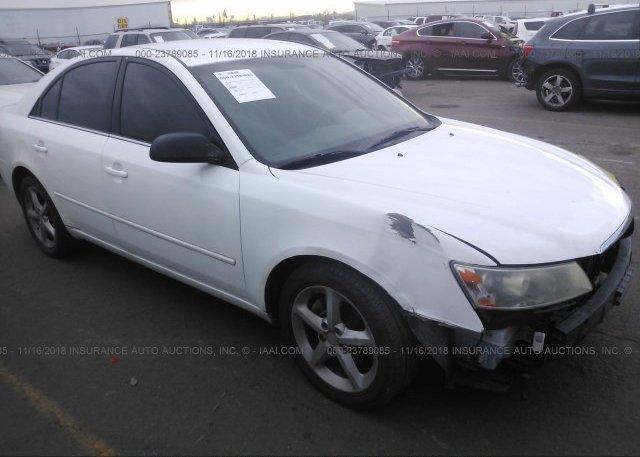 Inventory #544254606 2007 Hyundai SONATA