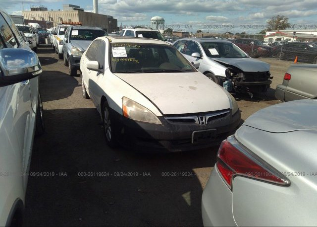 1HGCD563XRA157351, Salvage white Honda Accord at RAVENEL, SC