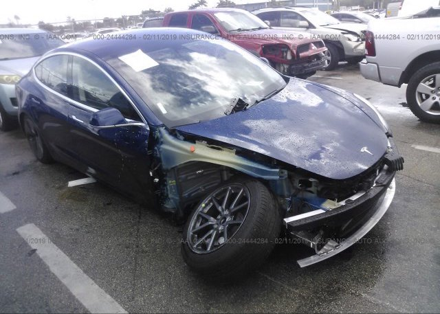 Inventory #301997796 2018 Tesla MODEL 3