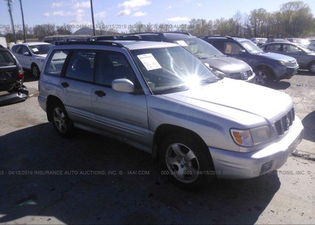 Inventory #576054439 2002 Subaru FORESTER