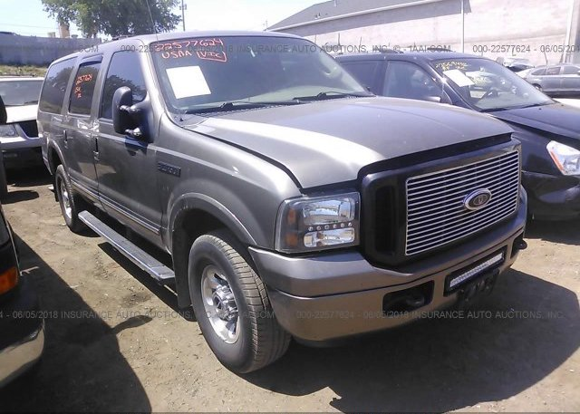 1FMSU43P04EC05349 Prior Salvage Tan Ford Excursion At SAINT PAUL MN On Online Auction By October 03 2018