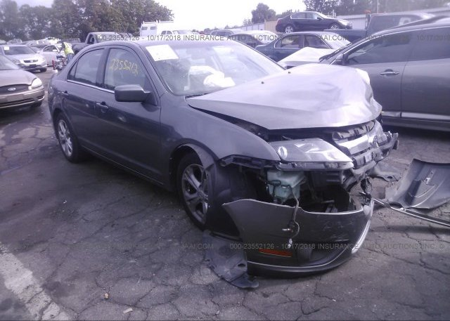 Inventory #683687349 2012 FORD FUSION