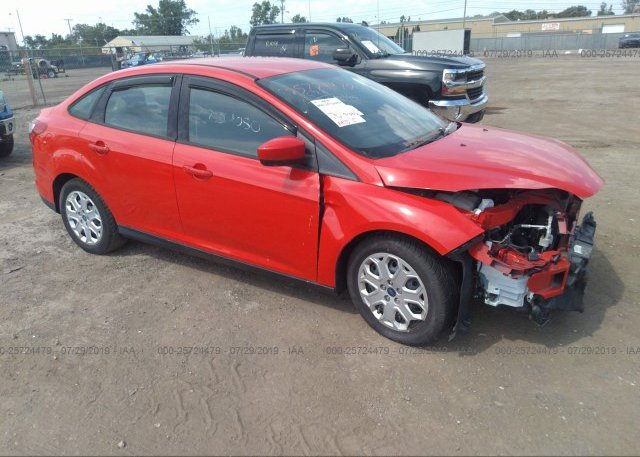 Inventory #932867371 2012 FORD FOCUS