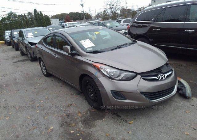 Inventory #186254534 2011 Hyundai ELANTRA