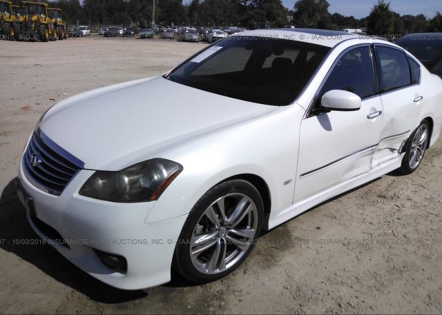 JNKBY01EX8M500696 Salvage White Infiniti M45 At CONCORD NC On