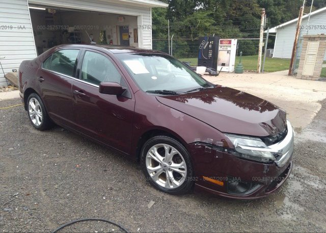 Inventory #546844538 2012 FORD FUSION