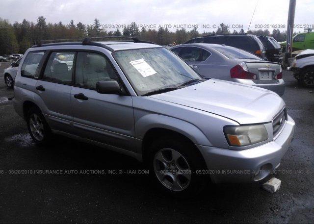 Inventory #266561021 2004 Subaru FORESTER