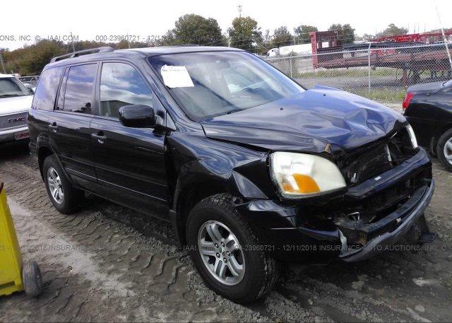 Inventory #189346846 2005 Honda PILOT