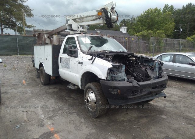 Inventory #888084806 2002 FORD F550