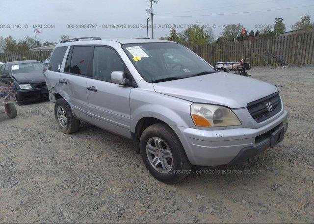 Inventory #944983652 2003 Honda PILOT