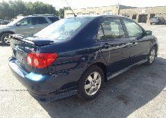 2005 Toyota COROLLA - 2T1BR32E65C408766 rear view