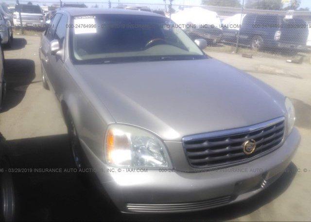 Inventory #275701055 2002 Cadillac DEVILLE