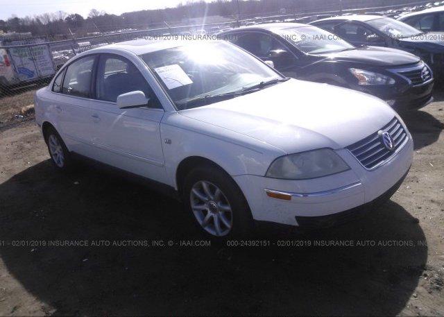 Inventory #965196430 2004 Volkswagen PASSAT