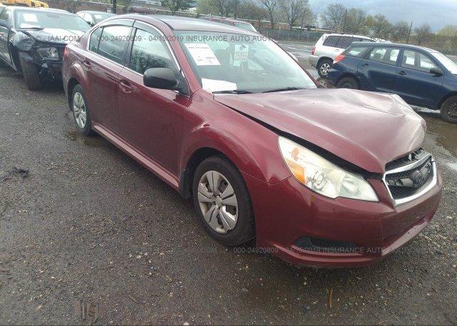 Inventory #636715344 2011 Subaru LEGACY