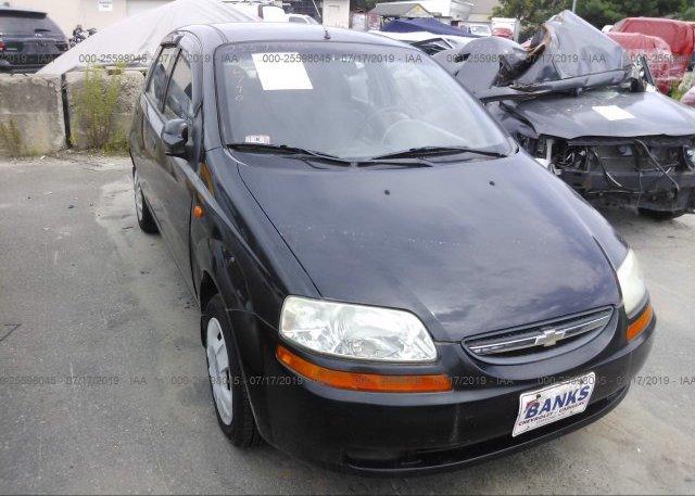 Inventory #541511053 2004 Chevrolet AVEO