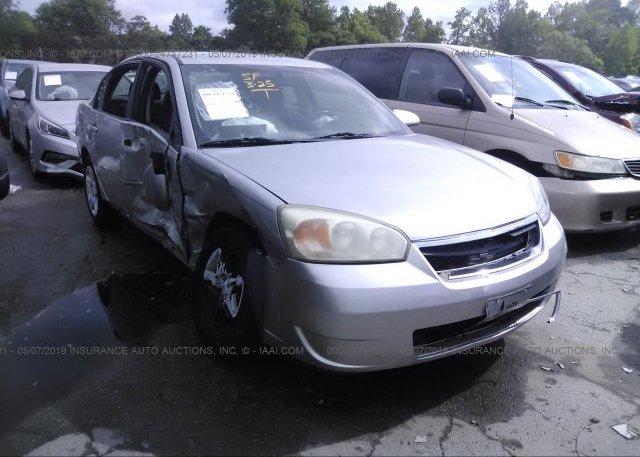 Inventory #609734307 2006 Chevrolet MALIBU