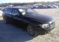 2007 BMW 750 - WBAHN83547DT75173 Left View