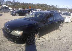 2007 BMW 750 - WBAHN83547DT75173 Right View