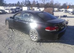2007 BMW 750 - WBAHN83547DT75173 [Angle] View