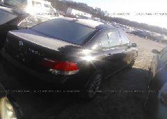 2007 BMW 750 - WBAHN83547DT75173 rear view