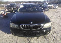 2007 BMW 750 - WBAHN83547DT75173 detail view