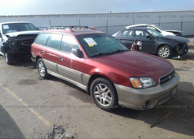 Inventory #516947588 2004 Subaru LEGACY