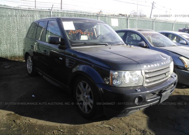 Inventory #240016457 2009 Land Rover RANGE ROVER SPORT