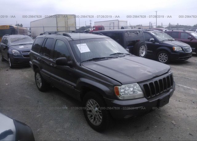 Inventory #382837101 2000 JEEP GRAND CHEROKEE