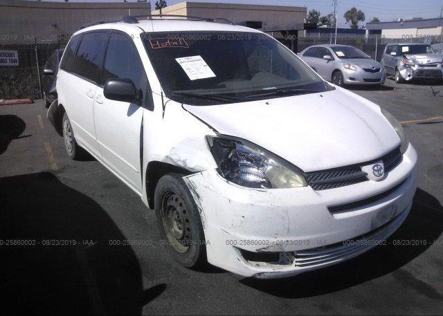 Inventory #184026845 2004 Toyota SIENNA