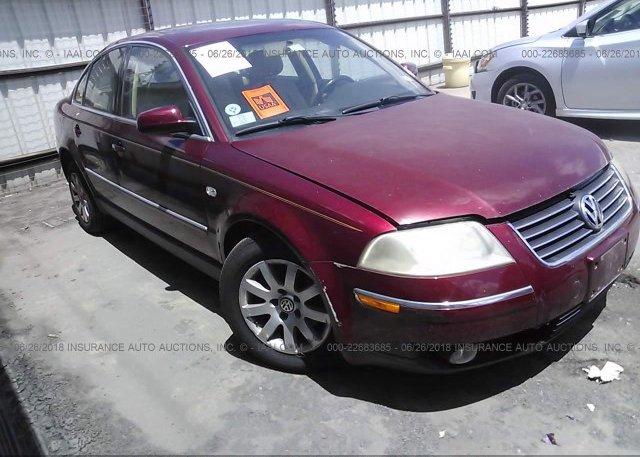Inventory #226027454 2002 Volkswagen PASSAT