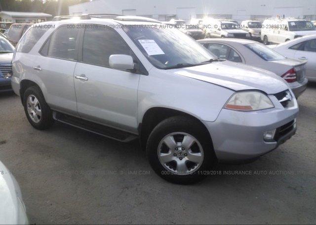 Inventory #930581403 2003 Acura MDX