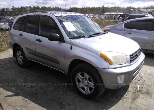 Inventory #320377166 2002 Toyota RAV4