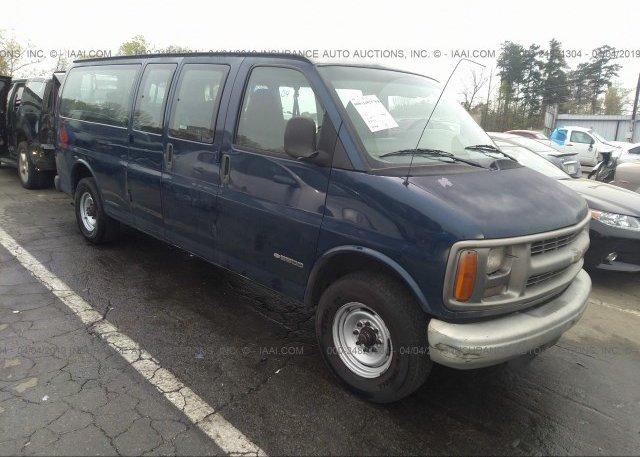Inventory #678265587 2001 Chevrolet EXPRESS G3500