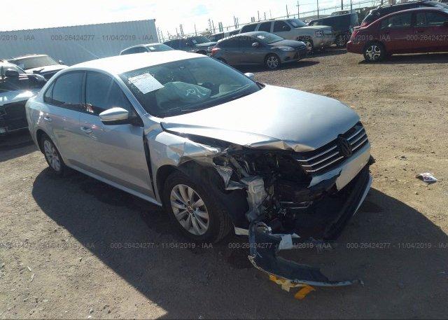 Inventory #131206615 2015 Volkswagen PASSAT