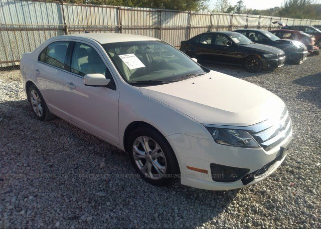 Inventory #106050989 2012 FORD FUSION