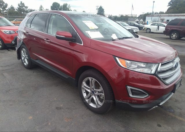 Inventory #828306309 2017 FORD EDGE