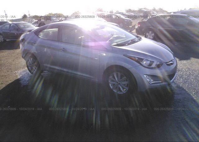 Inventory #738915593 2015 Hyundai ELANTRA