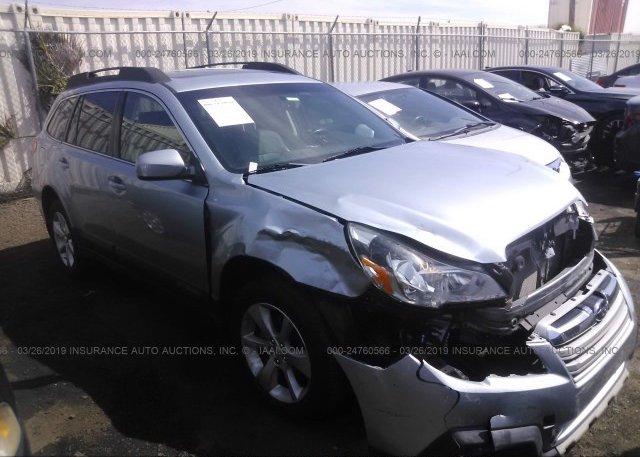 Inventory #681423504 2014 Subaru OUTBACK