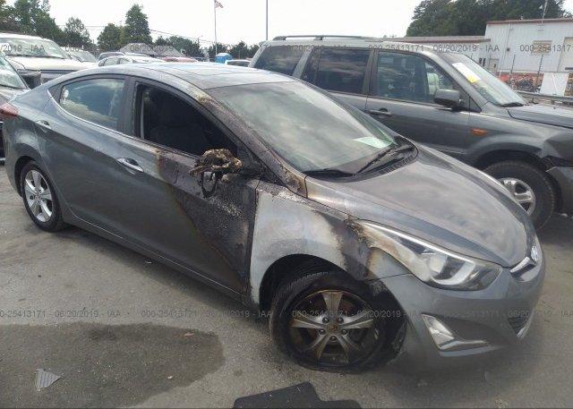 Inventory #306621585 2016 Hyundai ELANTRA