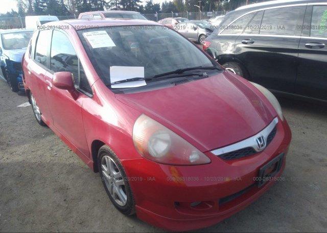 Inventory #293831013 2007 Honda FIT