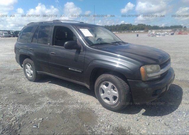 Inventory #472895685 2003 Chevrolet TRAILBLAZER