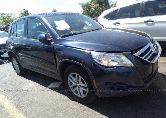 Inventory #851658681 2011 Volkswagen TIGUAN